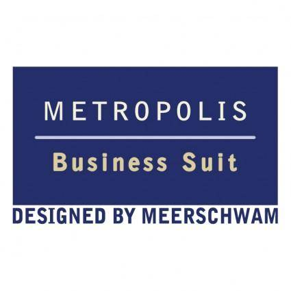 free vector Metropolis business suit