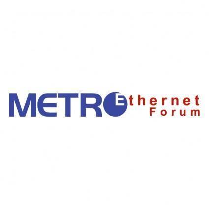Metro ethernet forum