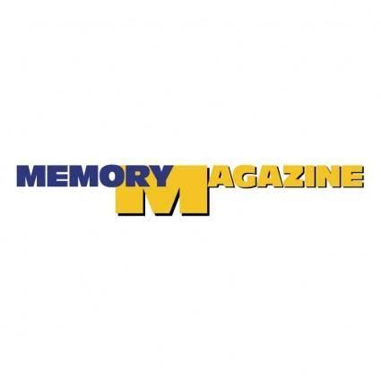Memory magazine