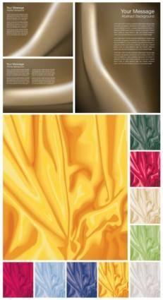 free vector Fold the cloth vector