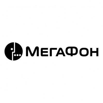 free vector Megafon 0
