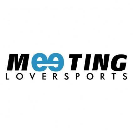 free vector Meeting loversports