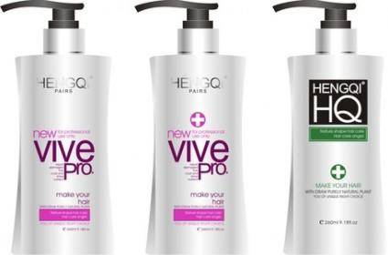 free vector Shampoo packaging vector