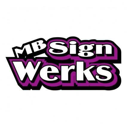 Mb signs werks