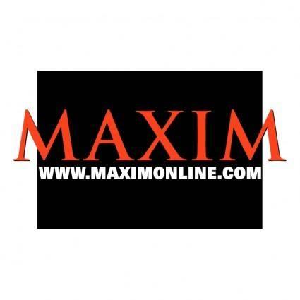 free vector Maxim