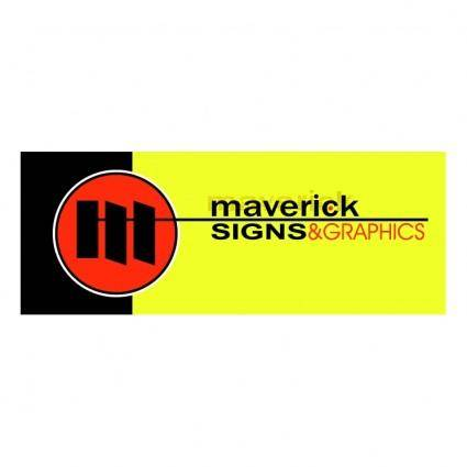 free vector Maverick signs and graphics inc 0