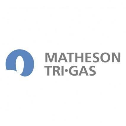 free vector Matheson tri gas