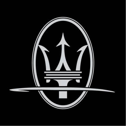 free vector Maserati tridente