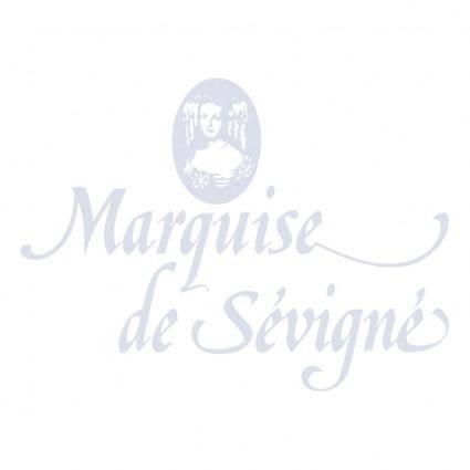 free vector Marquise de sevigne
