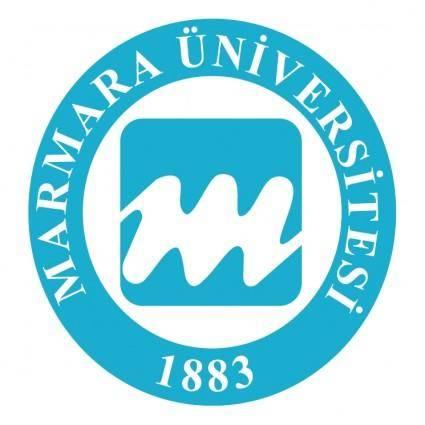 free vector Marmara universitesi
