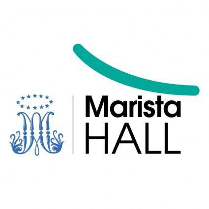 free vector Marista hall