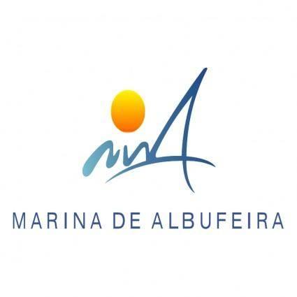 free vector Marina de albufeira