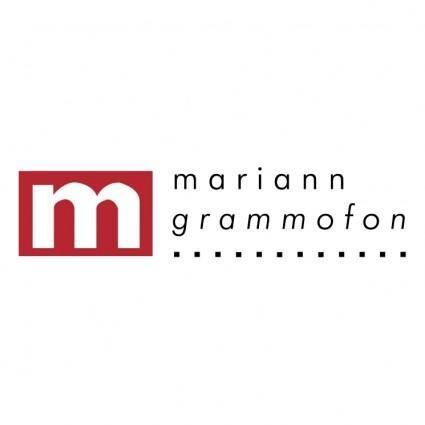 free vector Mariann grammofon
