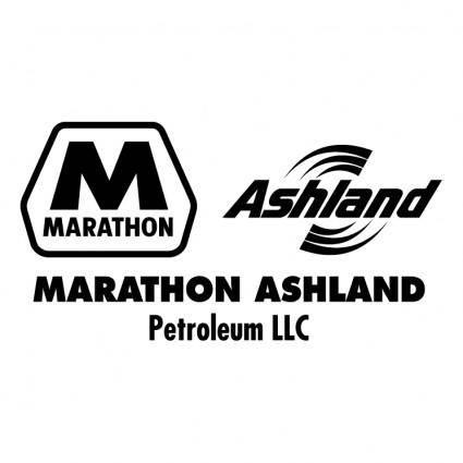 free vector Marathon ashland petroleum