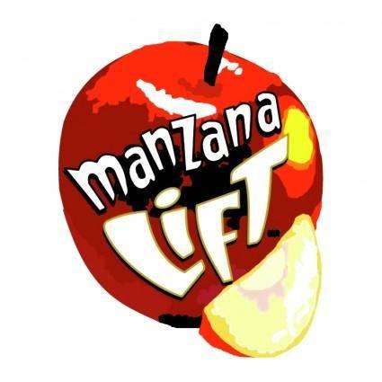 free vector Manzana lift