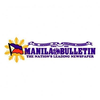 free vector Manila bulletin