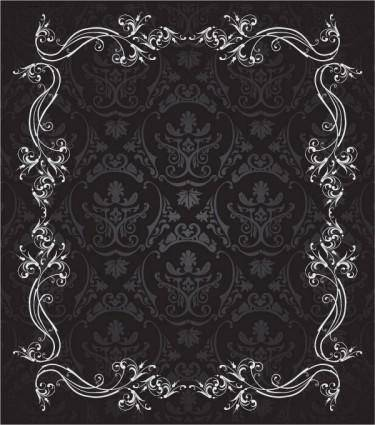 free vector European gorgeous lace vector
