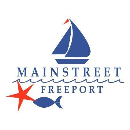 free vector Mainstreet freeport