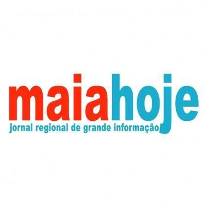free vector Maia hoje
