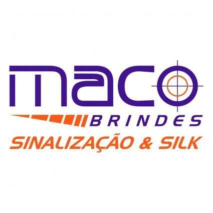 free vector Maco brindes