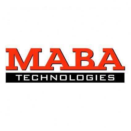 free vector Maba technologies