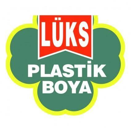 Luks plastik boya