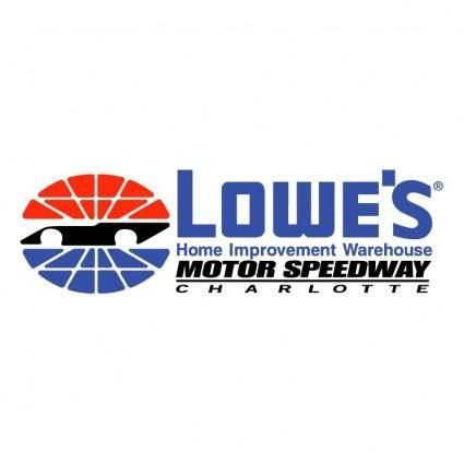 free vector Lowes motor speedway charlotte