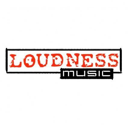 free vector Loudness music