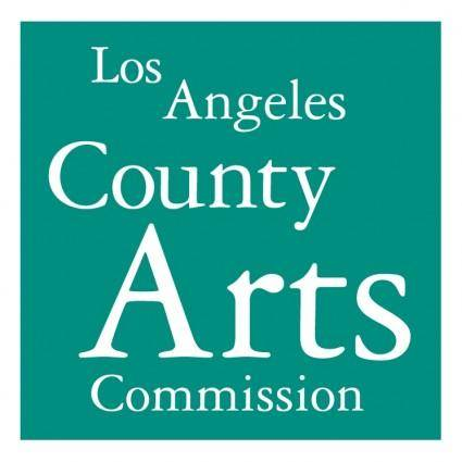 free vector Los angeles county arts commission