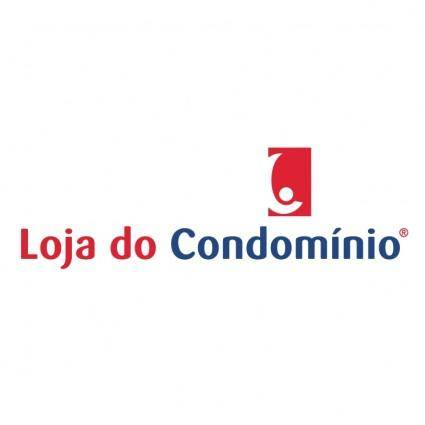 free vector Loja do condomnnio