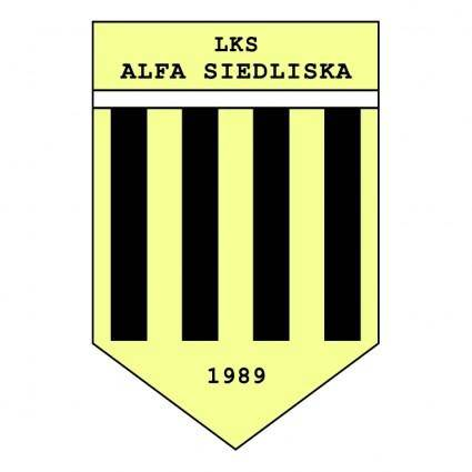 free vector Lks alfa siedliska
