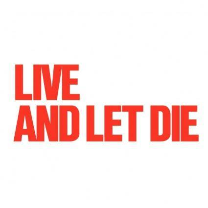 free vector Live and let die