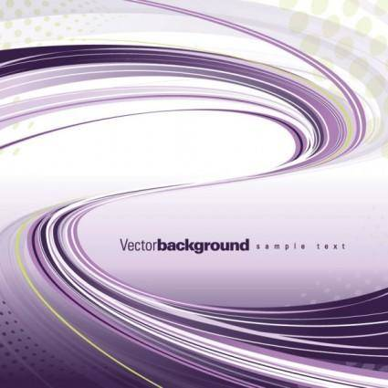free vector Gorgeous dynamic flow line 01 vector