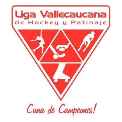 free vector Liga vallecaucana de hockey y patinaje