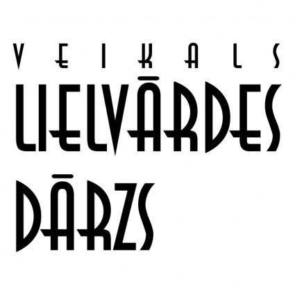 free vector Lielvardes darzs