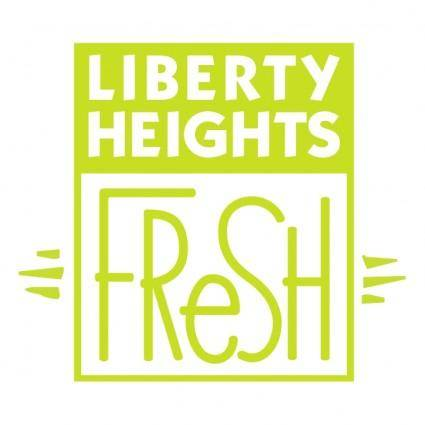 free vector Liberty heights fresh