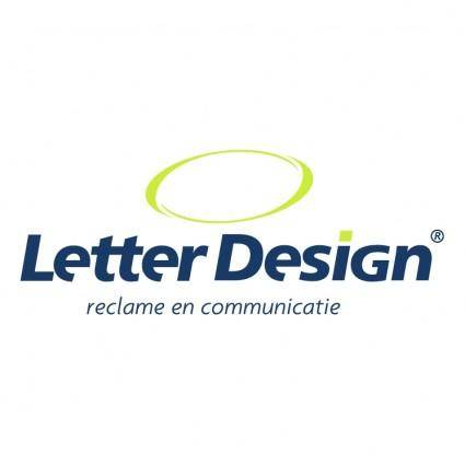 free vector Letter design