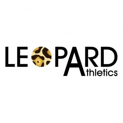 free vector Leopard athletics