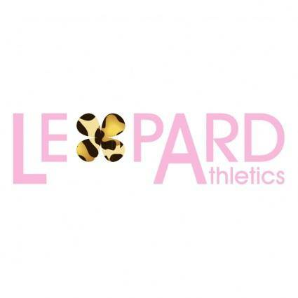 free vector Leopard athletics 2