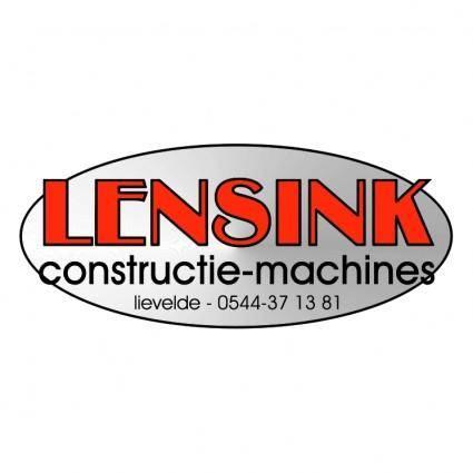 free vector Lensink constructie machines