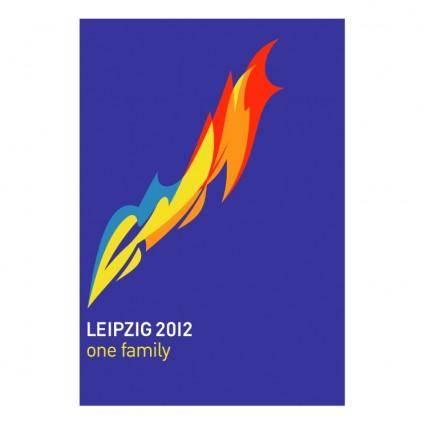 free vector Leipzig 2012 one family