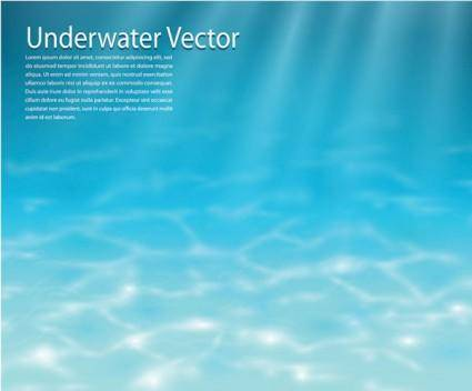free vector Clear water vector