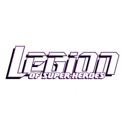 free vector Legion of super heroes