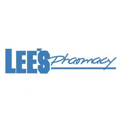 Lees pharmacy