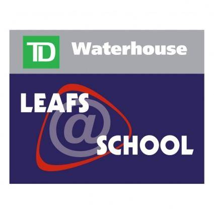 free vector Leafs school