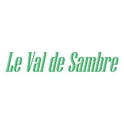 free vector Le val de sambre