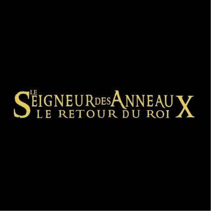 free vector Le seigneur des anneaux