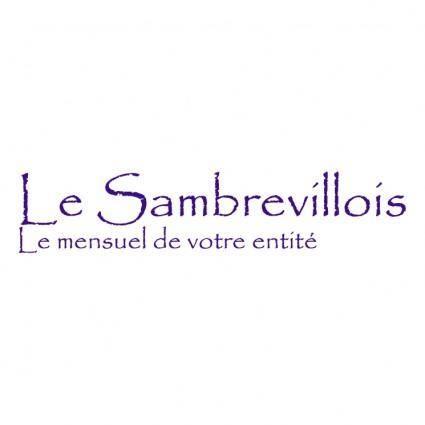 free vector Le sambrevillois