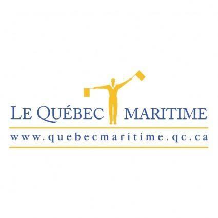 free vector Le quebec maritime 1