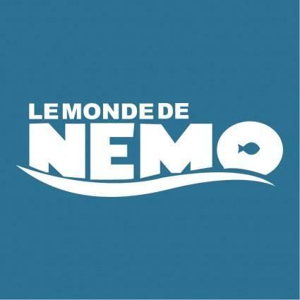 free vector Le monde de nemo